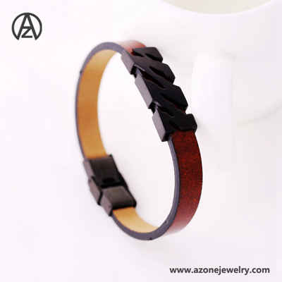 leather string bracelet