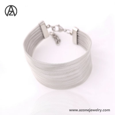 Stainless Steel Clasp Bracelet