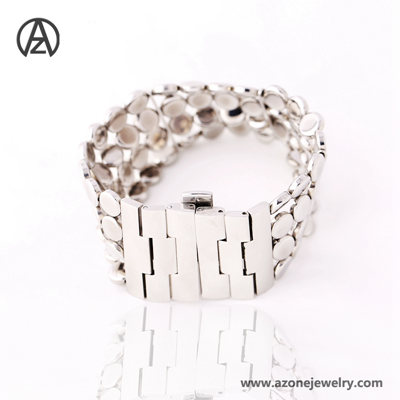 2019 Latest Tennis Stainless Steel Bracelet for Women
