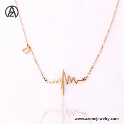 Stainless Steel Spark Necklace